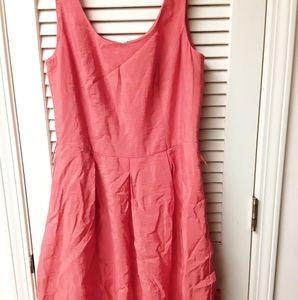 Chaps Orange Dress 12 NWT